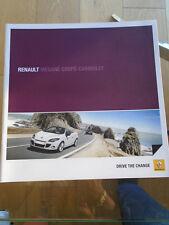 Renault Megane Coupe Cabriolet range brochure Jul 2010