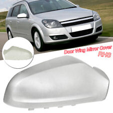 For Vauxhall Astra H 2005-2009 Wing Mirror Cover Painted Silver O/S Driver Right