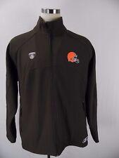 Reebok Cleveland Browns NFL Equipment full zip Jacket for mens siz L