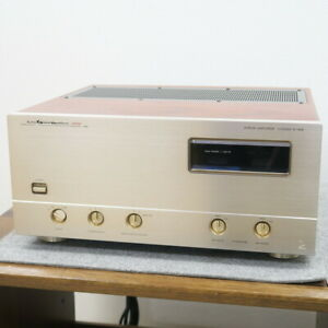 LUXMAN M-06α Power amplifier AC100V Working Properly F/Shipping (d1887