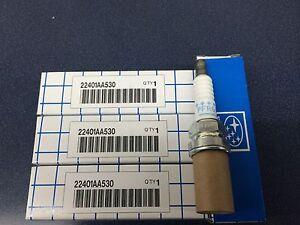 Subaru Spark Plugs 22401AA530 NEW (4) 2002-2005 WRX OEM NGK PFR6G EJ205 Geniuine
