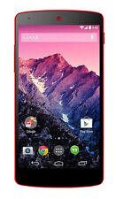 Téléphones mobiles rouge Android LG