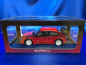 Autoart 1/18 Citroen XSARA WRC 2004 Plain Body Version Red Rally tracking number