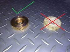 VW EOS Sunroof Motor Repair Kit - Internal Gear BRASS Upgrade -  1Q0959591 B C