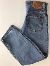 Levis Boys Jeans 11 Regular Relaxed Fit 505 Denim Light Wash 5 Pocket Original