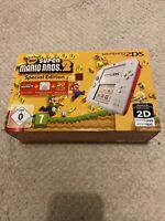 🥰 Console Nintendo 2DS Pack new super mario bros 2 special edition ( 3ds )