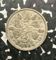 1930 Great Britain 6 Pence (7 Available) Silver! Circulated (1 Coin Only)