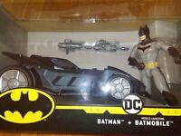 DC Batman With Missle Launching Batmobile