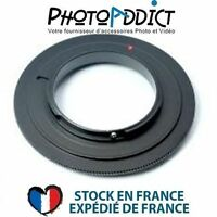 BAGUE INVERSION OM 58 - Bague d'inversion 58mm pour Olympus