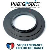 BAGUE INVERSION OM 58 - Bague d'inversion 58mm pour Olympus