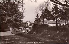 Old Mill Brock Nr Preston RP old pc used 1912 Branch Series