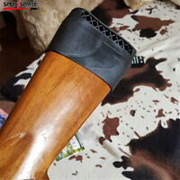 Gun Rifle Recoil Pad Buttstock Cover Rubber Slip-On Pad For Shooting Hunting
