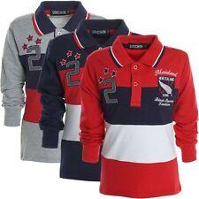 Markenlose Jungen-Poloshirts mit Logo