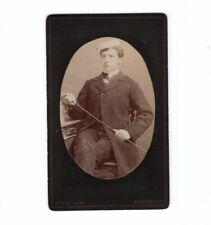 CDV Foto Studentika Burschenschaft - Deggendorf 1880er