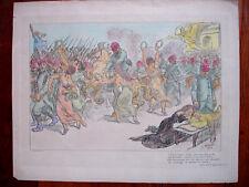 Adolphe WILLETTE (1857-1926) LITHOGRAPHIE 1915-CHANT DES GIRONDINS-DEVAMBEZ GR