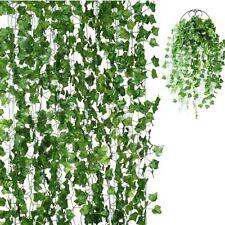 18 Pack Artificial Ivy Leaf Plants Vine Hanging Garland Ivy Vines Fake Ivy Garla