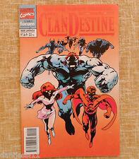 Comic, ClanDestine, nº 1 de 9, Marvel Comics, Forum, Alan Davis, Stan Lee, 1995