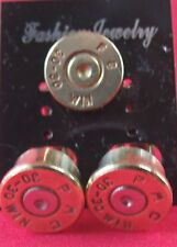 BULLET CUFF LINKS AND TIE TAC/LAPEL/HAT  PIN 30-30 WIN FC BRASS  NEW UNUSED