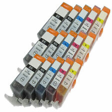 15 XL Ink Cartridges For PGI550 CLI551 Canon Pixma iP7250 MG5450 MG6350 MX925