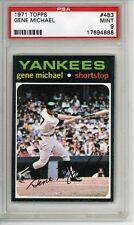 1971 Topps # 483 Gene Michael Yankees PSA 9 MINT