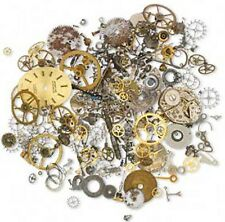 Steampunk Vintage Watch Parts Altered Art Lot of 30 Grams
