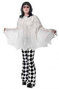 Freddie Mercury Cape Queen Costume Singer Bohemian Rhapsody Movie White Cosplay