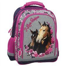 CHEVAL GRAND SAC A DOS ERGONOMIQUE CARTABLE ECOLE CHEVAUX PONEY PONY HORSES