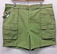 St. John's Bay Men's Shorts Olive Green Outdoor Casual Cargo Walking NWT Size 40
