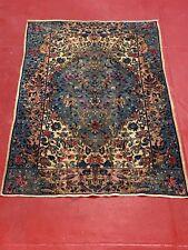 Antique Vintage fine Persian circa 1910 handmade 100% wool