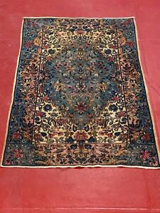 Antique Vintage fine Weave circa 1910 handmade 100% wool