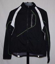 Cannondale Feel It! Youth Black Full Zip Long Sleeve Cycling Gear Jacket Size XL