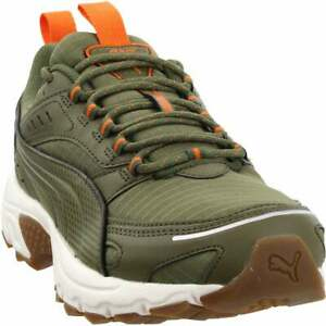 Puma Axis Trail Lace Up  Mens  Sneakers Shoes Casual   - Green