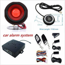 Car Alarm System With PKE-Passive Keyless Entry Remote Engine Start Push Button