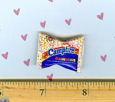 DOLLHOUSE Miniatures SIZE Colored Marshmallow Bag