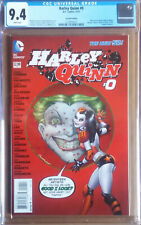 HARLEY QUINN #0 Cover B (2014 series) - 2nd Print Variant Cover - CGC 9.4