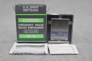 Casio RP-16 Memory Pack NIB NOS RARE