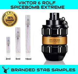 VIKTOR & ROLF Spicebomb Extreme EDP Travel Sample 2ml /5ml /10ml WITH TRACKING!