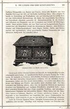 Proprio in legno-Cassetta di Battista Gatti ROMA TAGLIO LEGNO-vignette di 1873