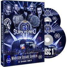 Official ROH Ring of Honor & NJPW - G1 Supercard at MSG 2019 Event 2 DVD Set