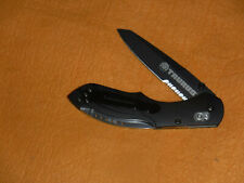 Benchmade 923S-01 BLK Taurus Folding Knife Rare First Production 1 of 1000 MINT