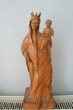 vierge à l'enfant en bois cuenot francois ?