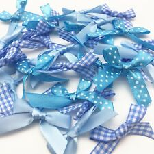 60 Pretty Blue Ribbon Bow Collection Designs Wedding Craft Sewing Embellishment