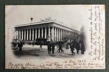 CPA. PARIS. 75 - La Bourse. Taride. 1902.