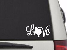 "Texas Love Vinyl Sticker Decal for Car Truck Window Cooler Yeti Rtic 5"" W"
