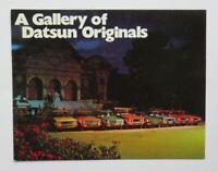 1973 Datsun Brochure 610 240Z Pickup 510 1200 Vintage Original