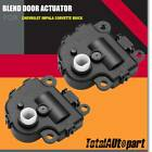 2pcs AC Blend Door Actuator Main for Chevy Impala Malibu Buick LaCrosse 604-108