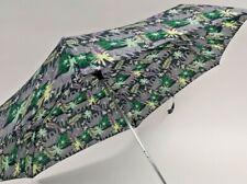 Totes  wooden crook umbrella, elephant print  EBA