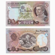 Irlanda-ALLIED Irish Banks £ 10 nota-BYB ref: NI.107 - In perfatta condizione +.