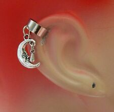 Ear Cuff Silver Moon Charm Drop/Dangle Handmade Jewelry Accessories NEW
