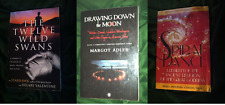 Lot of 3 Women Witchcraft Books Wicca Magick Feminist Starhawk Adler
